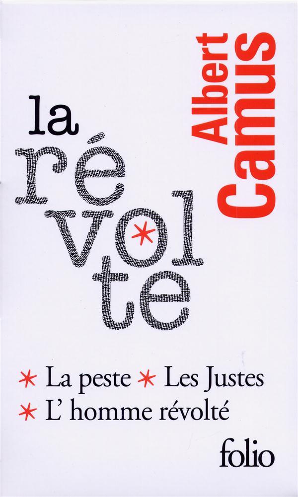 COFFRET CAMUS LA REVOLTE 3V - LES JUSTES, LA PESTE, L'HOMME REVOLTE CAMUS ALBERT Gallimard