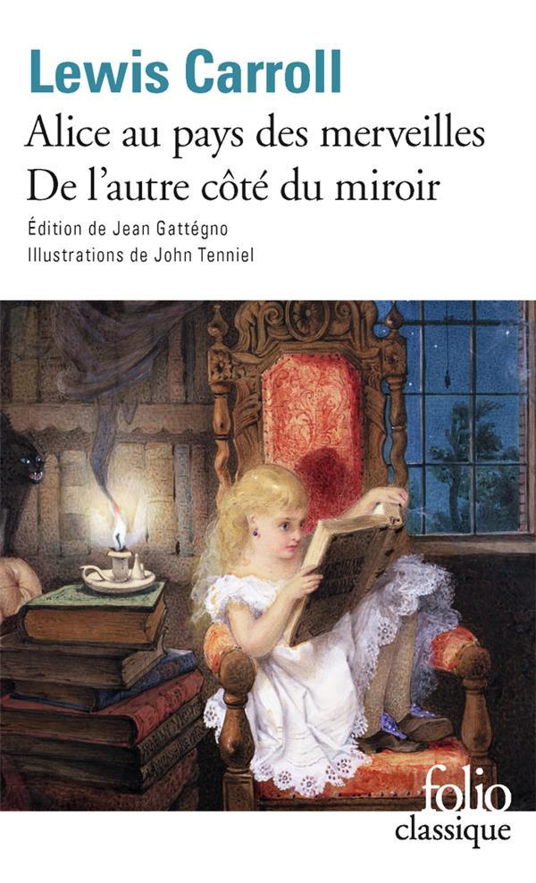ALICE AU PAYS DES MERVEILLES  -  DE L'AUTRE COTE DU MIROIR