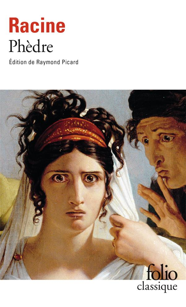 PHEDRE RACINE JEAN Gallimard