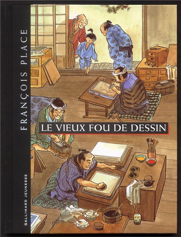 LE VIEUX FOU DE DESSIN PLACE FRANCOIS GALLIMARD