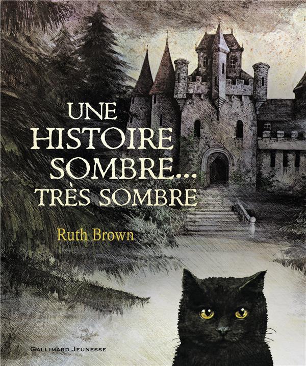 UNE HISTOIRE SOMBRE, TRES SOMBRE BROWN RUTH GALLIMARD