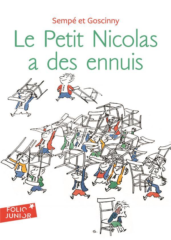 LE PETIT NICOLAS A DES ENNUIS SEMPE/GOSCINNY GALLIMARD