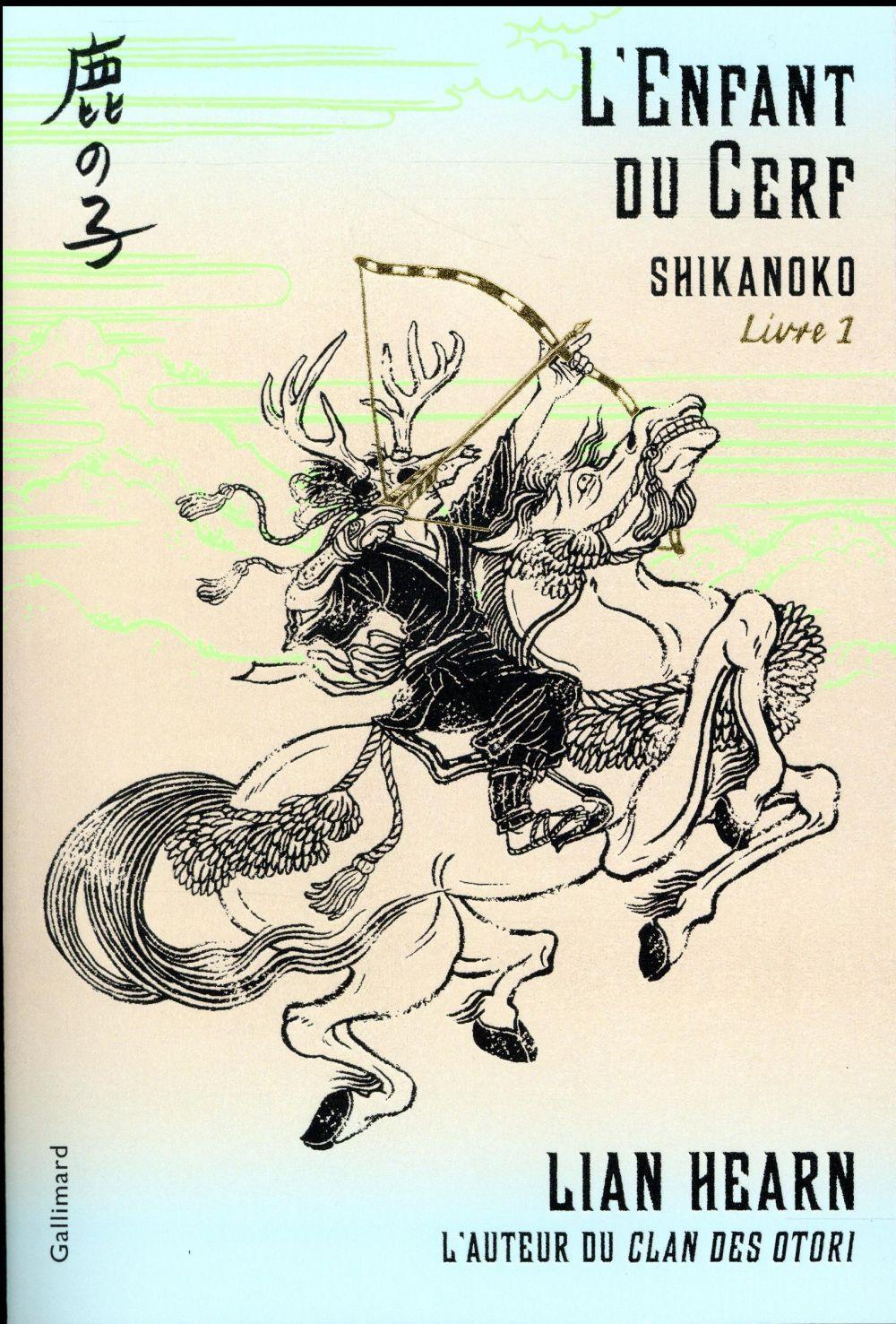 SHIKANOKO, 1 : L'ENFANT DU CERF HEARN LIAN Gallimard-Jeunesse