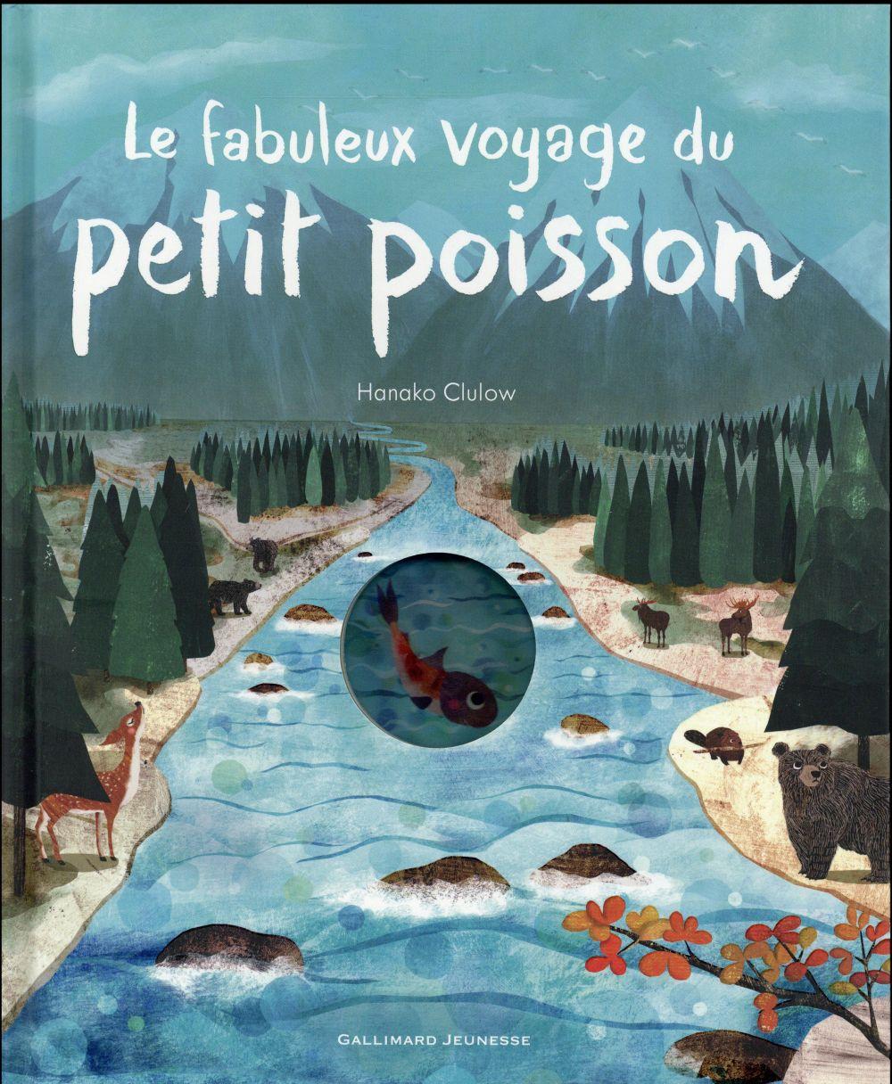 LE FABULEUX VOYAGE DU PETIT POISSON Hegarty Patricia Gallimard-Jeunesse