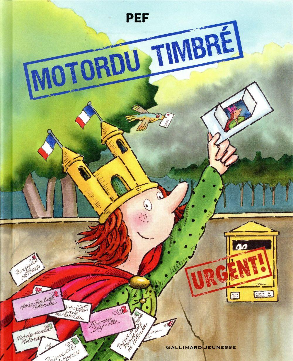 MOTORDU TIMBRE PEF Gallimard-Jeunesse