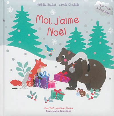 MOI, J'AIME NOEL ! Chincholle Camille Gallimard-Jeunesse