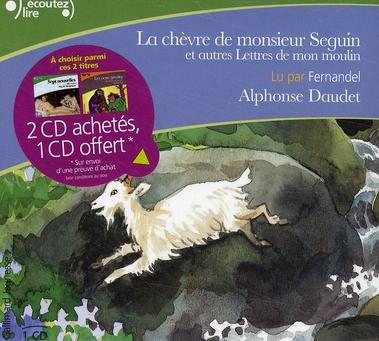 LA CHEVRE DE MONSIEUR SEGUIN  -  ET AUTRES LETTRES DE MON MOULIN DAUDET ALPHONSE GALLIMARD