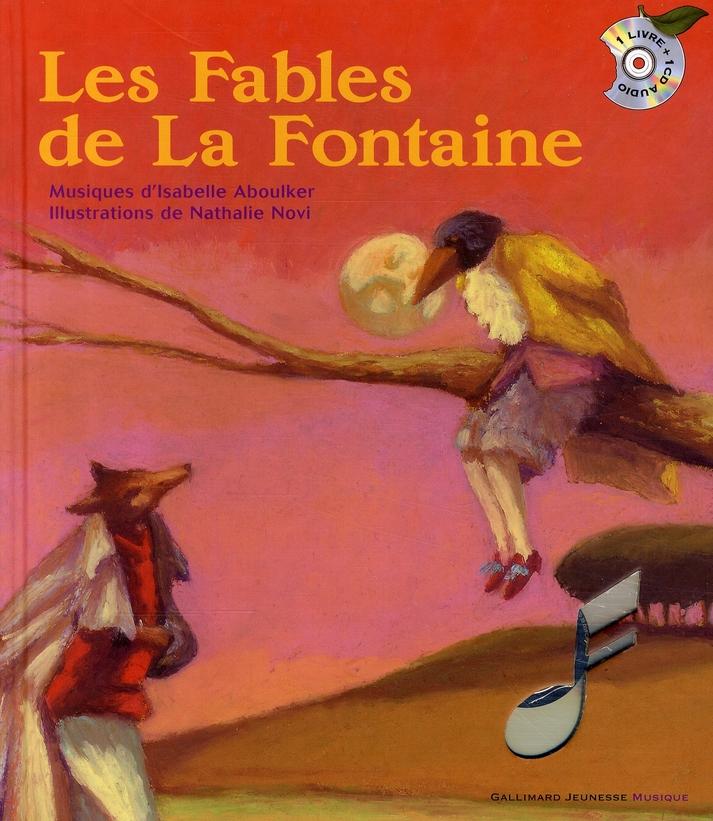 LES FABLES LA FONTAINE/NOVI GALLIMARD