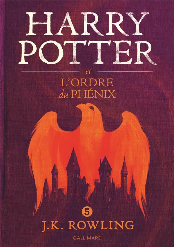 HARRY POTTER ET L'ORDRE DU PHENIX Rowling Joanne Kathleen Gallimard-Jeunesse