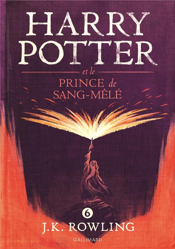HARRY POTTER ET LE PRINCE DE SANG-MELE Rowling Joanne Kathleen Gallimard-Jeunesse