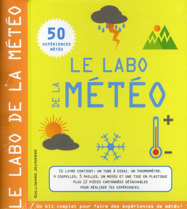 LE LABO DE LA METEO REGAN LISA GALLIMARD