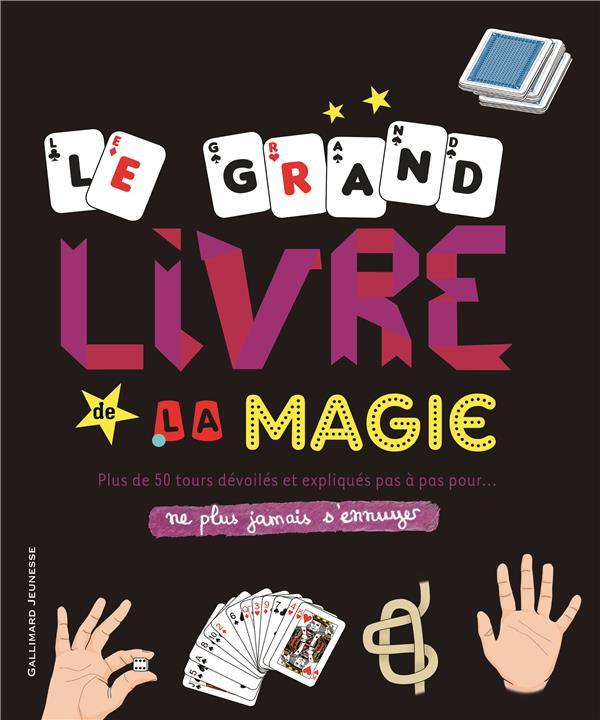 LE GRAND LIVRE DE LA MAGIE FULLMAN JOE Gallimard-Jeunesse