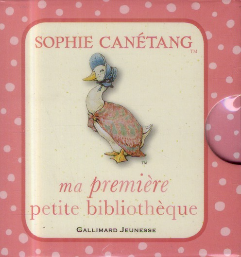 MA PREMIERE PETITE BIBLIOTHEQUE SOPHIE CANETANG