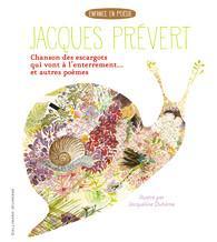CHANSON DES ESCARGOTS QUI VONT A L'ENTERREMENT  -  CHANSON POUR LES ENFANTS L'HIVER  -  LES PRODIGES DE LA LIBERTE PREVERT/DUHEME Gallimard-Jeunesse