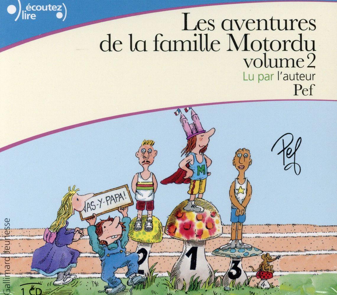 Les aventures de la famille Motordu Motordu, champignon olympique Motordu est le frère Noël Motordu as à la télé ! Motordu et les petits hommes vers Vol.2