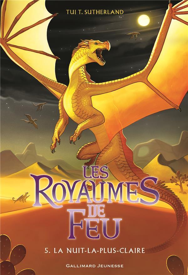 LES ROYAUMES DE FEU, 5 - LA NUIT-LA-PLUS-CLAIRE