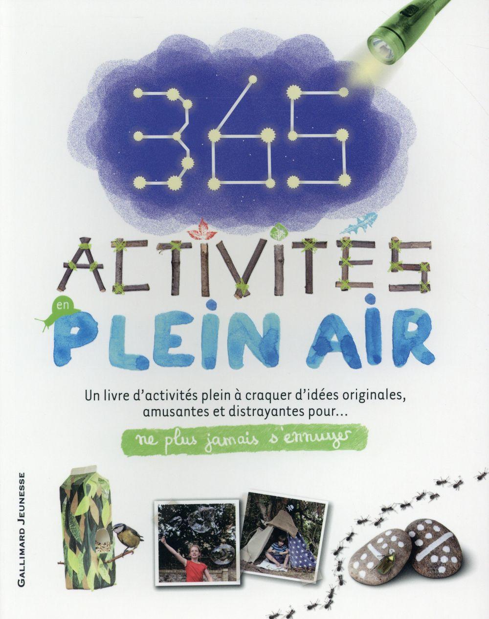365 ACTIVITES EN PLEIN AIR AMBROSE JAMIE Gallimard-Jeunesse