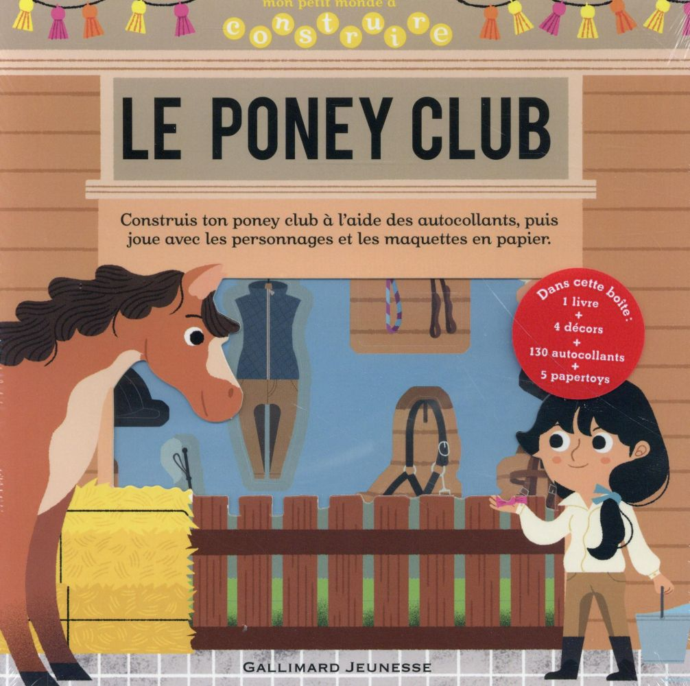 LE PONEY CLUB COLLECTIF Gallimard-Jeunesse