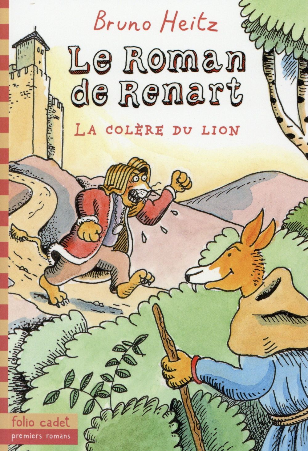 LE ROMAN DE RENART, 2 Heitz Bruno Gallimard-Jeunesse