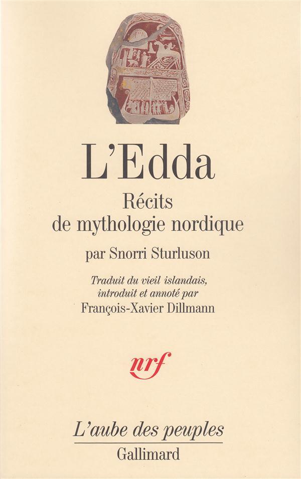 L'EDDA  -  RECITS DE MYTHOLOGIE NORDIQUE STURLUSON, SNORRI GALLIMARD