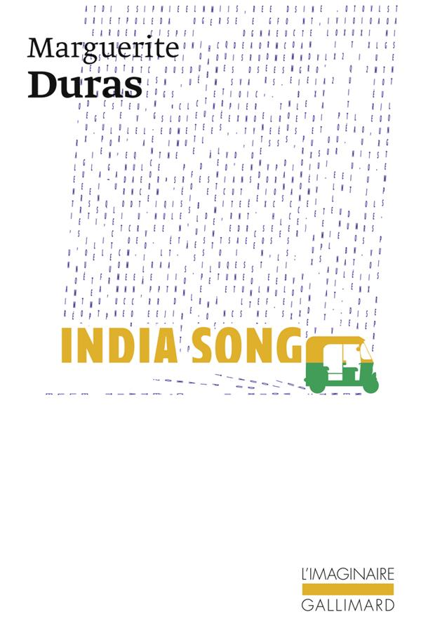 INDIA SONG - TEXTE THEATRE FILM
