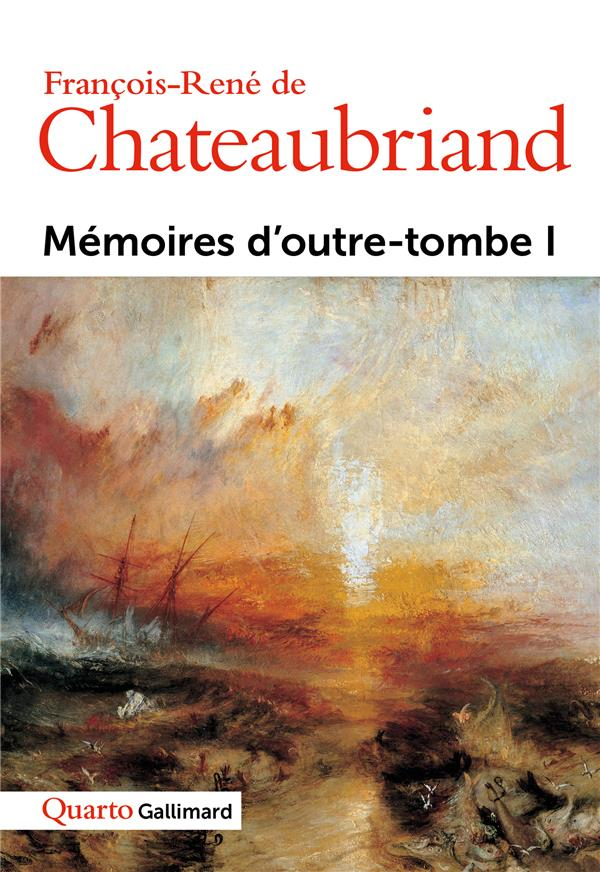 MEMOIRES D'OUTRE-TOMBE T1