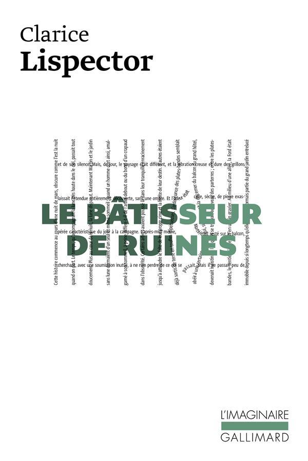 LE BATISSEUR DE RUINES