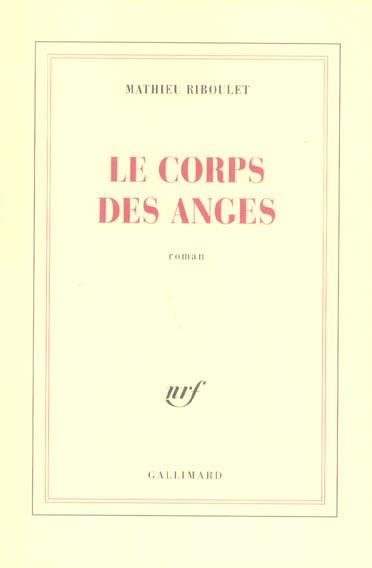 LE CORPS DES ANGES
