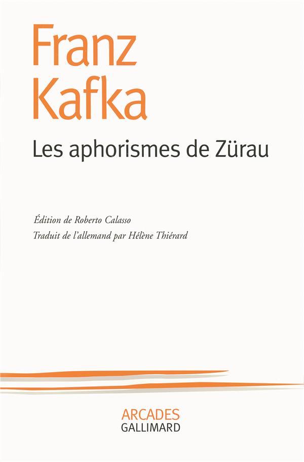 APHORISMES DE ZURAU