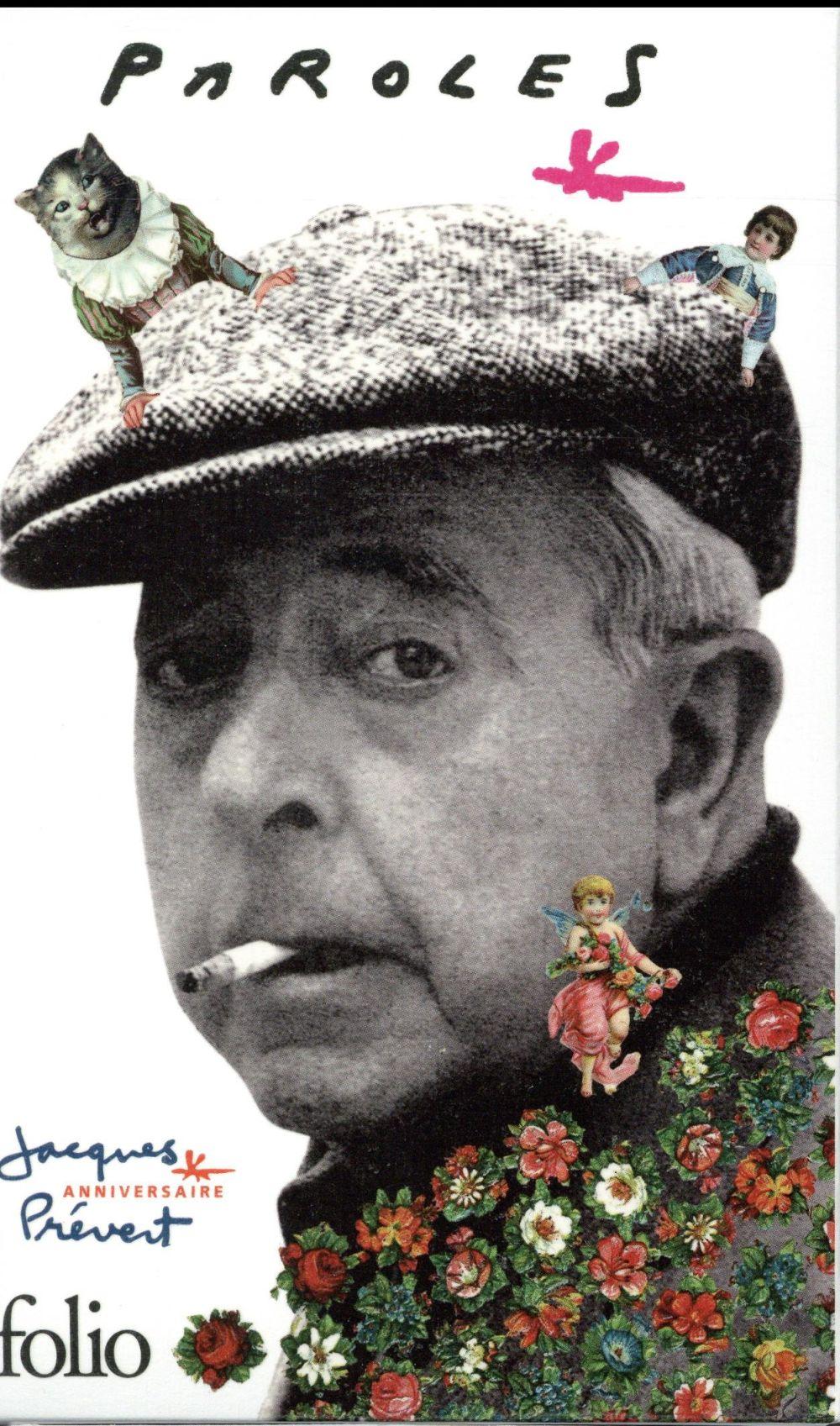 PAROLES PREVERT JACQUES Gallimard