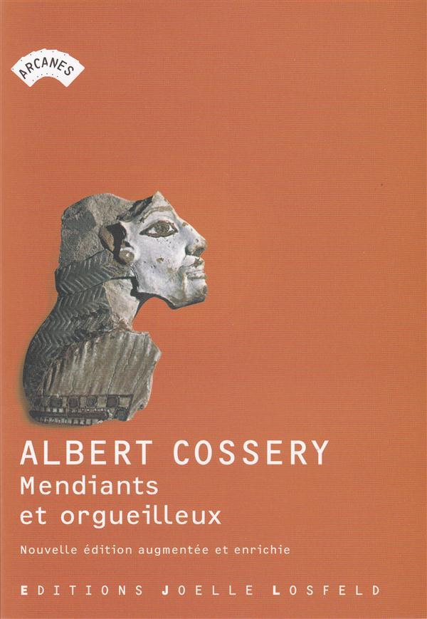 MENDIANTS ET ORGUEILLEUX Cossery Albert J. Losfeld