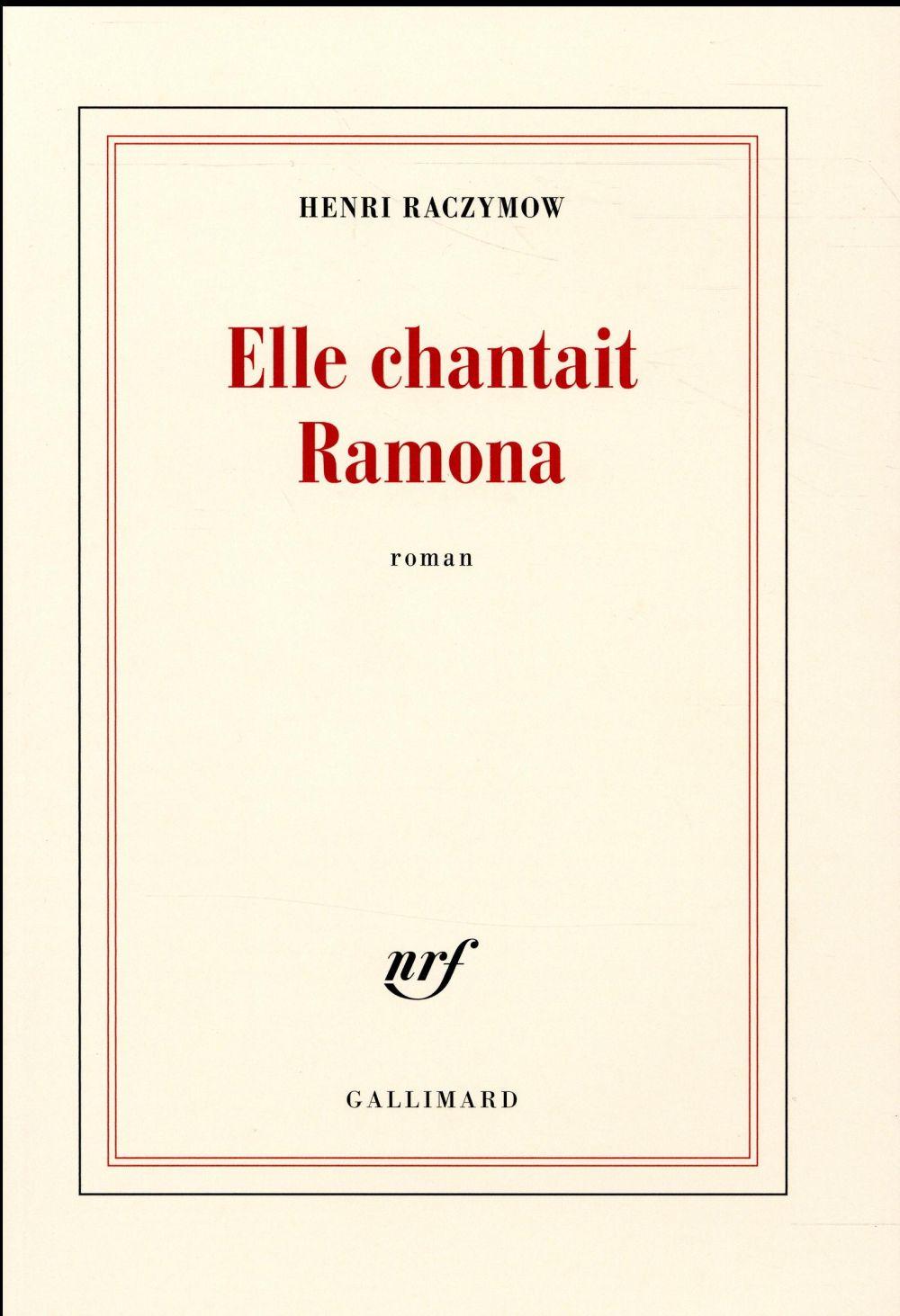 ELLE CHANTAIT RAMONA