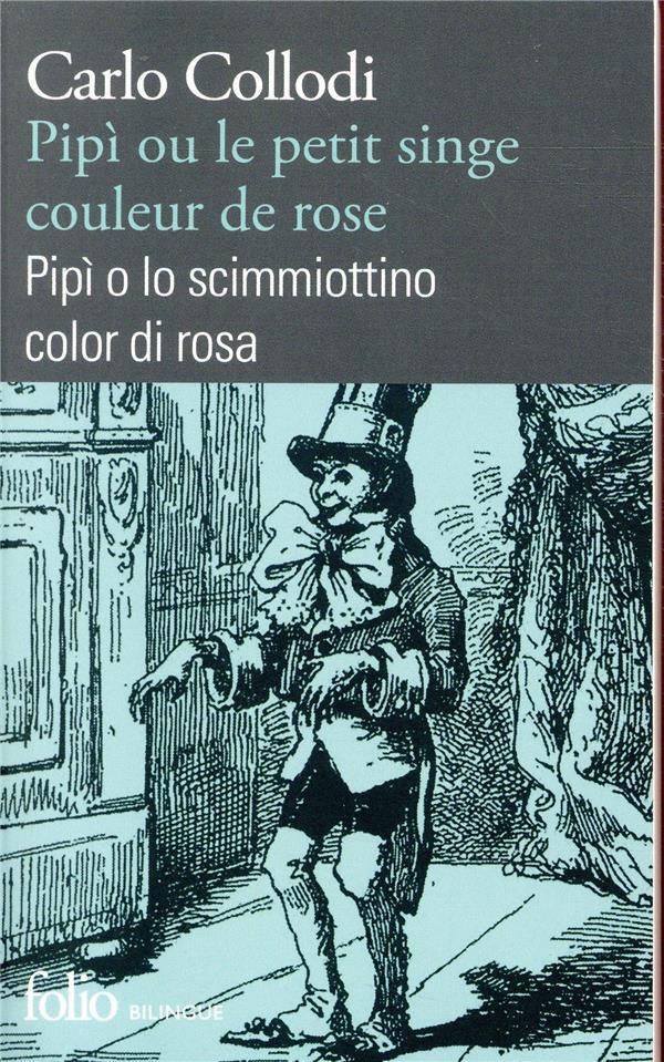 PIPI OU LE PETIT SINGE COULEUR DE ROSE