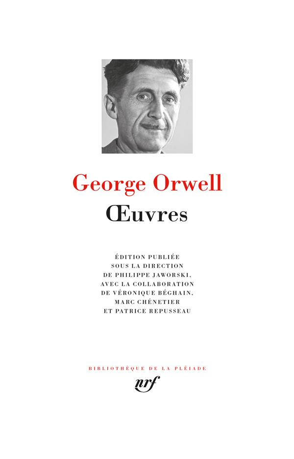 OEUVRES ORWELL GEORGE GALLIMARD