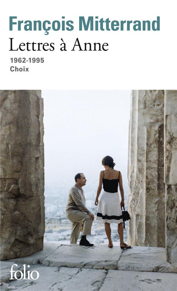 LETTRES A ANNE  -  1962-1995  -  CHOIX