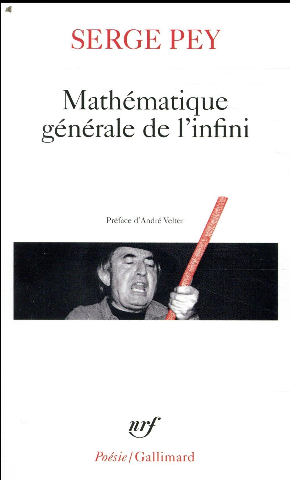 MATHEMATIQUE GENERALE DE L'INFINI