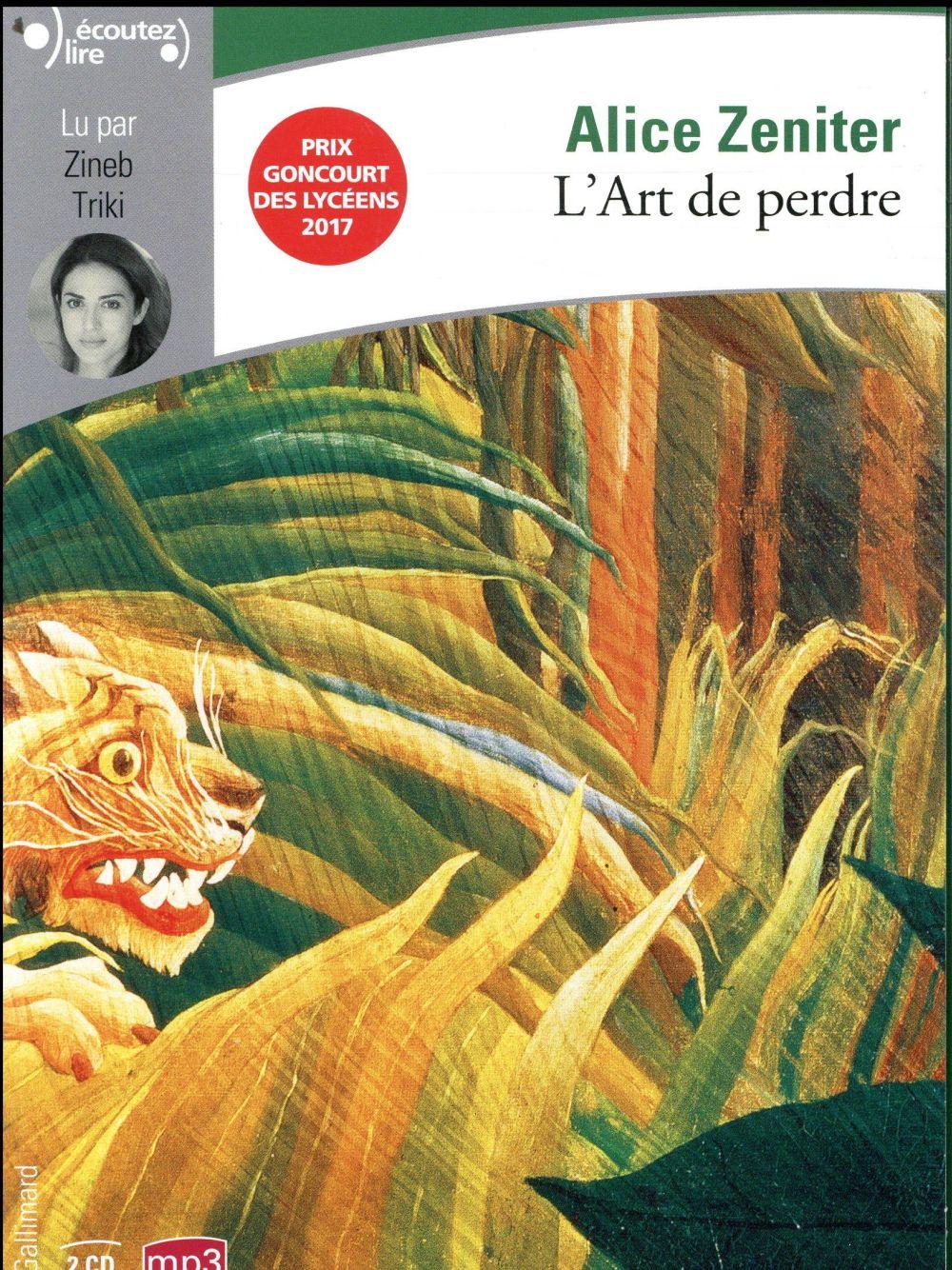 L'ART DE PERDRE  GALLIMARD
