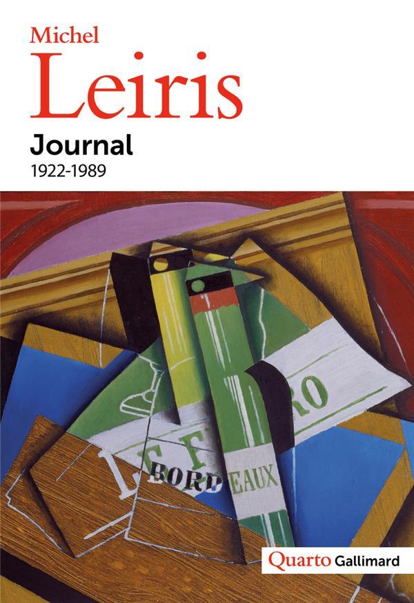 JOURNAL - (1922-1989) LEIRIS, MICHEL  GALLIMARD