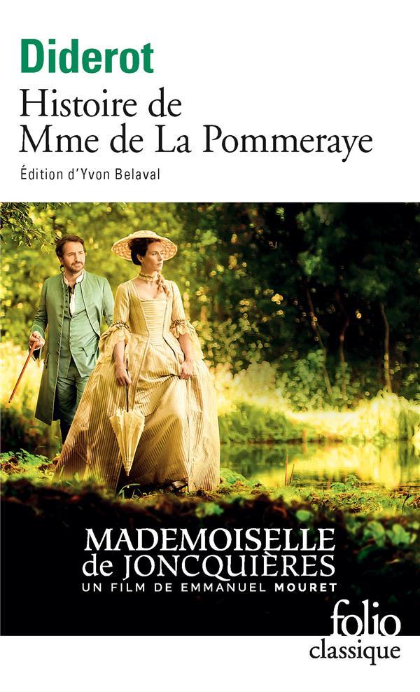 HISTOIRE DE MME DE LA POMMERAY DIDEROT DENIS GALLIMARD