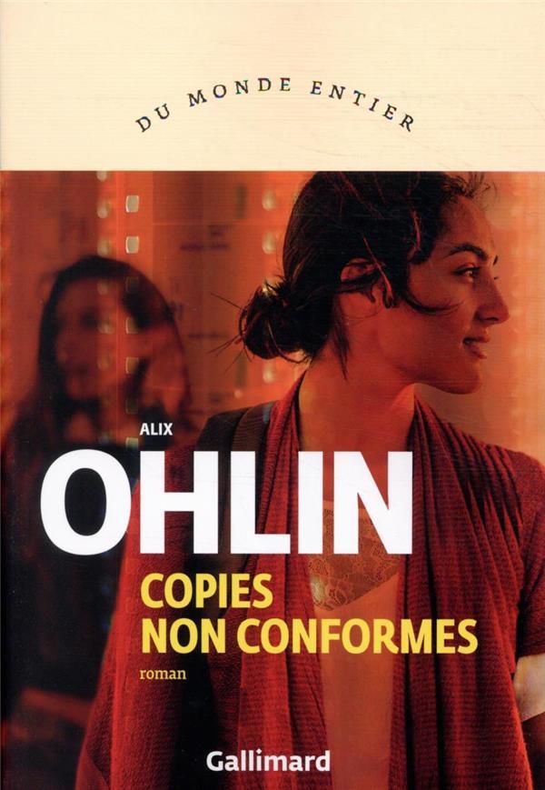 COPIES NON CONFORMES OHLIN ALIX GALLIMARD