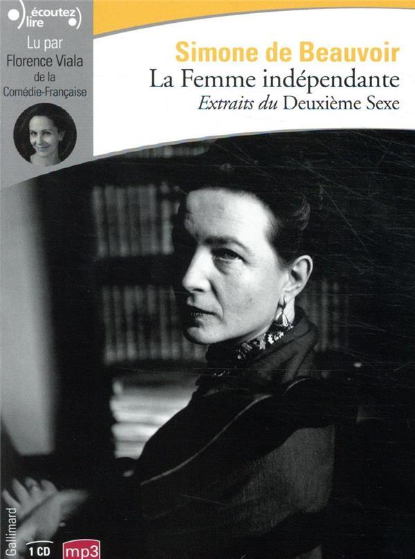 LA FEMME INDEPENDANTE BEAUVOIR SIMONE DE GALLIMARD