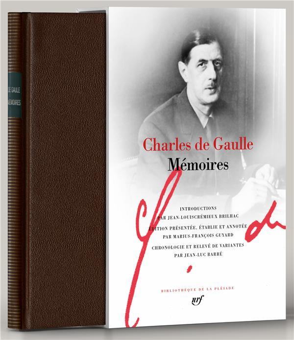 MEMOIRES GAULLE CHARLES DE GALLIMARD