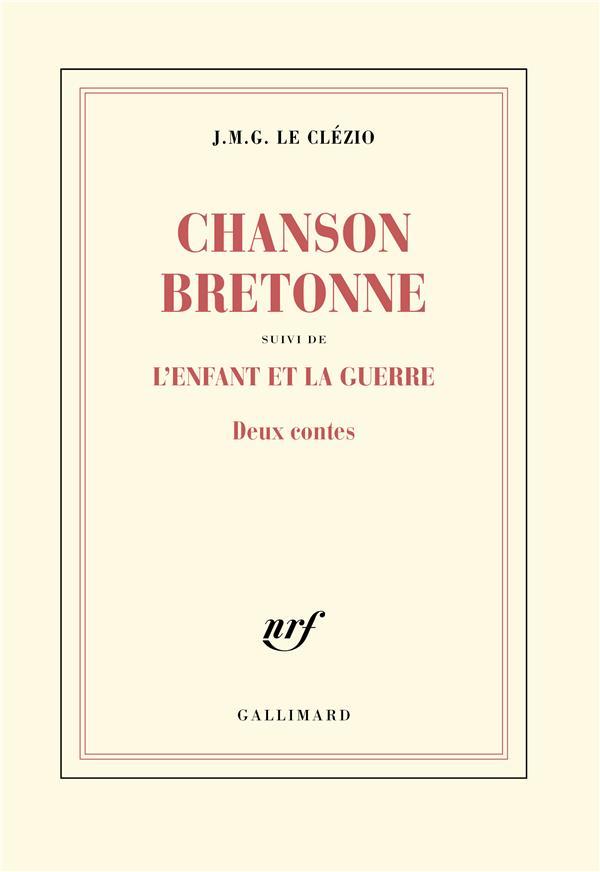 CHANSON BRETONNE  -  L'ENFANT ET LA GUERRE
