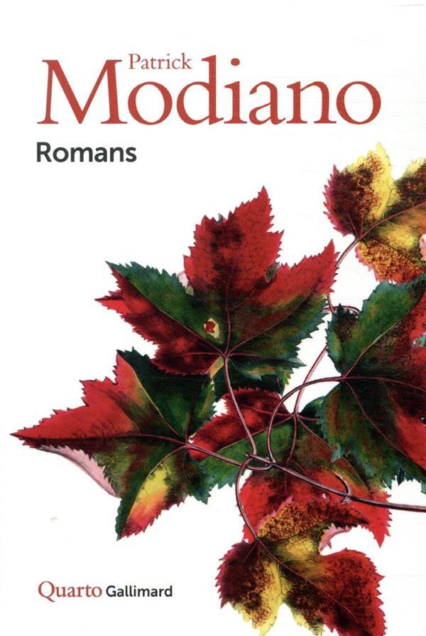 ROMANS (SOUS ETUI) MODIANO, PATRICK GALLIMARD