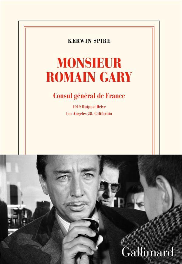 MONSIEUR ROMAIN GARY  -  CONSUL GENERAL DE FRANCE