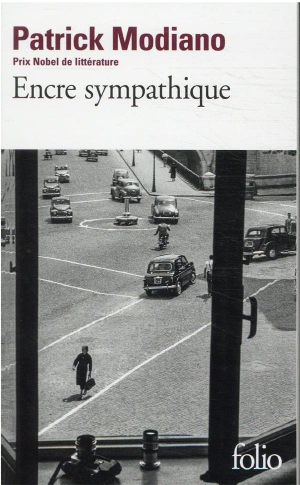 ENCRE SYMPATHIQUE MODIANO PATRICK GALLIMARD