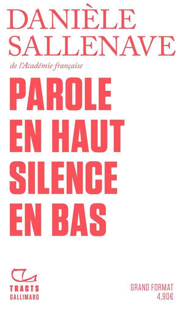 PAROLE EN HAUT SILENCE EN BAS