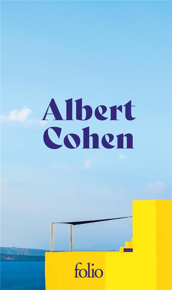 COFFRET ALBERT COHEN 3 VOLUMES