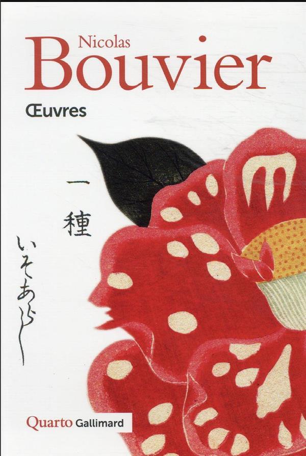 OEUVRES BOUVIER NICOLAS GALLIMARD