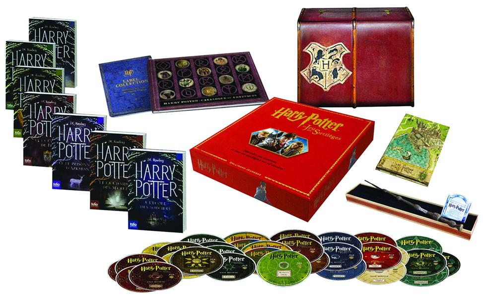 Rowling Joanne Kathleen - COFFRET COLLECTOR HARRY POTTER